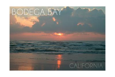 Bodega Bay, California - Ocean at Dawn
