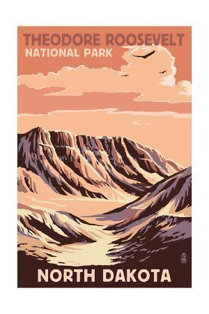 Theodore Roosevelt National Park - North Dakota - Buttes