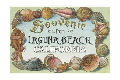 Laguna Beach, California - Shells Souvenir