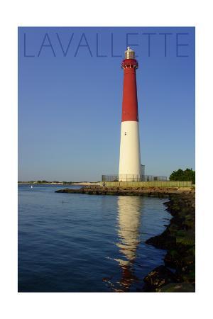 Lavallette, New Jersey - Barnegat Lighthouse Close Up