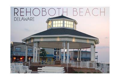 Rehoboth Beach, Delaware - Bandstand Twilight
