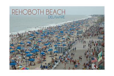 Rehoboth Beach, Delaware - Beach and Boardwalk