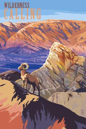 Wilderness Calling - National Park WPA Sentiment