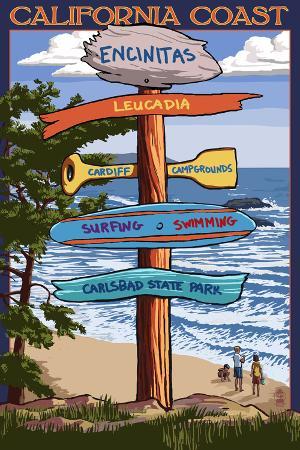 Encinitas, California - Signpost Destinations