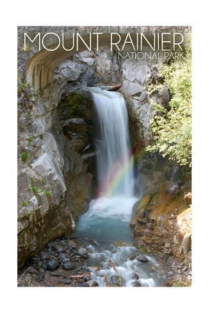 Mount Rainier National Park - Christine Falls