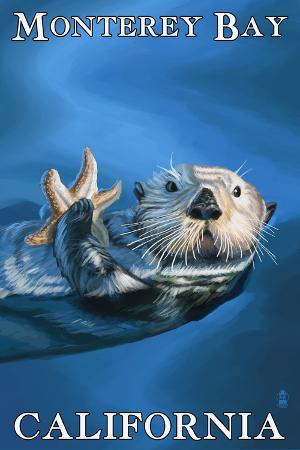 Monterey Bay, California - Sea Otter