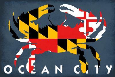 Ocean City, Maryland - Maryland Flag Crab