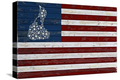 Block Island, Rhode Island - Flag