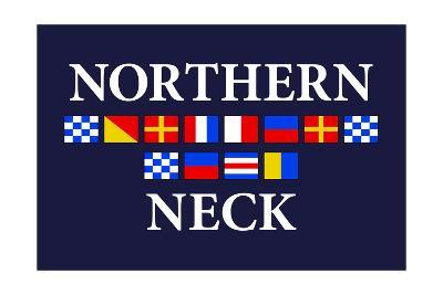 Northern Neck, Virginia - Nautical Flags