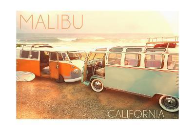Malibu, California - Life is a Beautiful Rides on Beach