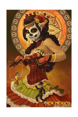 New Mexico - Day of the Dead Marionettes