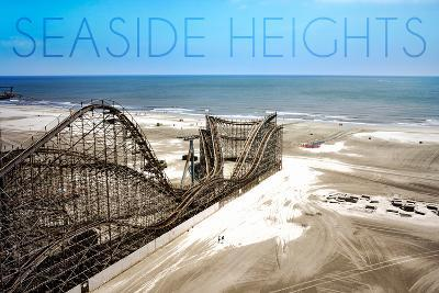 Seaside Heights - Roller Coaster Construction 1