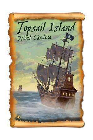 Topsail Island, North Carolina - Pirate Ship
