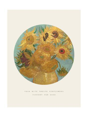 Old Masters, New Circles: Sunflowers, c.1889