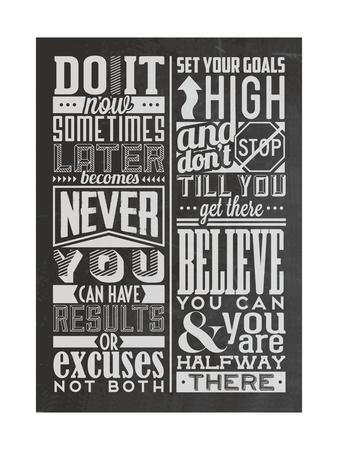 Motivational Set Black