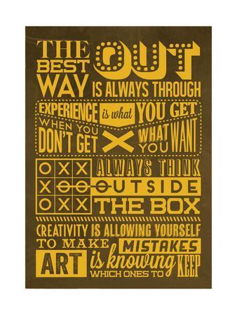 Creative Set Yellow