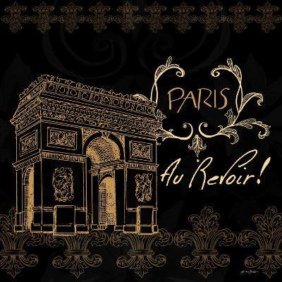 Elegant Paris Gold Square IV