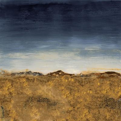 Blue Modern Landscape II