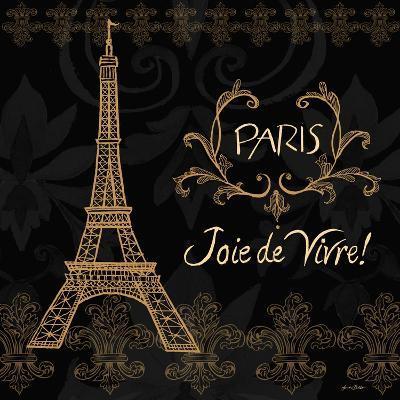 Elegant Paris Gold Square III