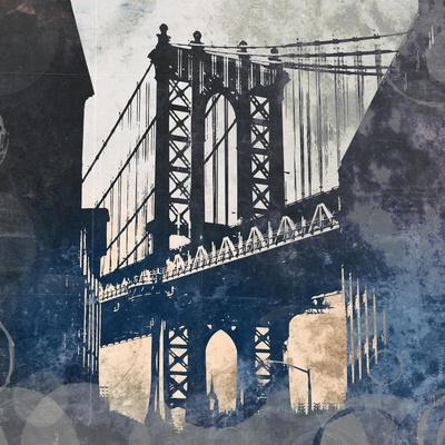 NY Bridge at Dusk II