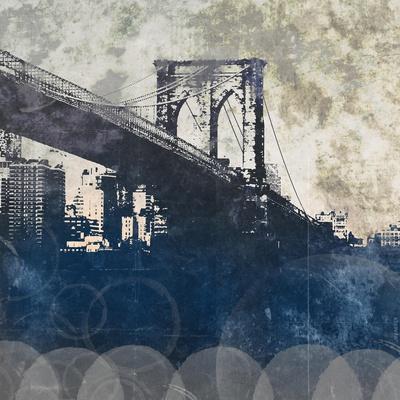 NY Bridge at Dusk I