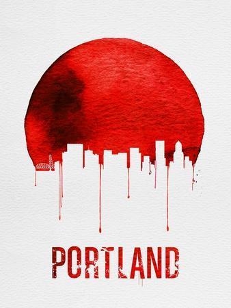 Portland Skyline Red