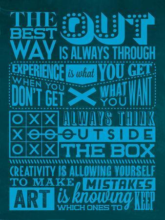 Creative Set Blue