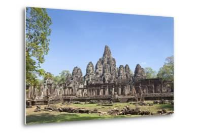 The West Side of the Bayon Temple, Angkor Thom, Angkor, Siem Reap, Cambodia