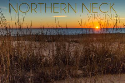 Northern Neck, Virginia - Beach and Sunrise