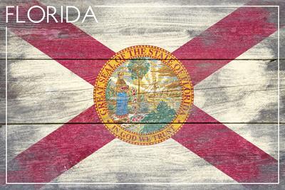 Florida State Flag - Barnwood Painting