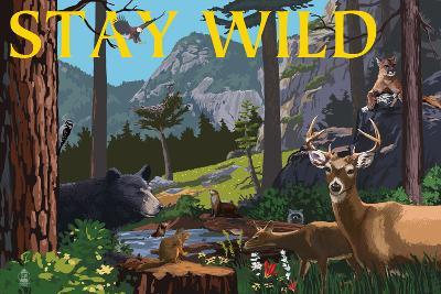 Stay Wild - National Park WPA Sentiment