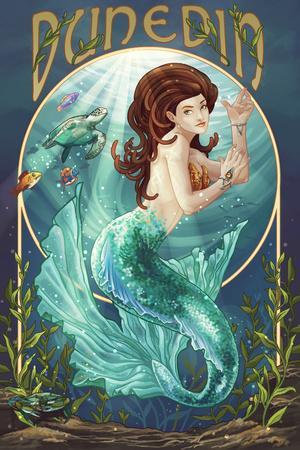 Dunedin, Florida - Mermaid
