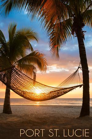 Port St. Lucie, Florida - Hammock and Sunset