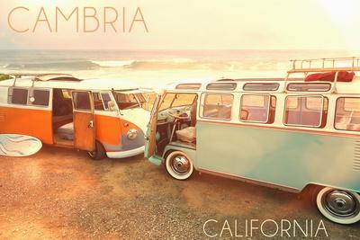 Cambria, Californias on Beach