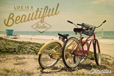 Encinitas, California - Beach Cruiser