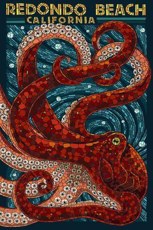 Redondo Beach, California - Octopus Mosaic