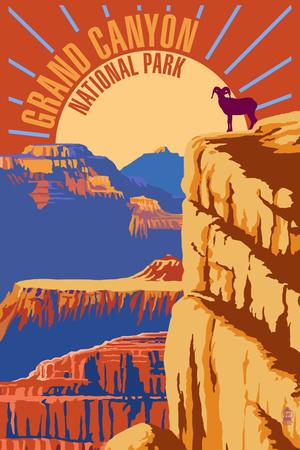Grand Canyon National Park - Psychedelic