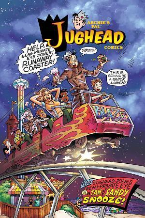 Archie Comics Cover: Jughead No.204 Jughead Jones: Semi-Private Eye Pt 3 A Tan & Sandy Snooze!