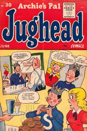 Archie Comics Retro: Jughead Comic Book Cover No.30 (Aged)