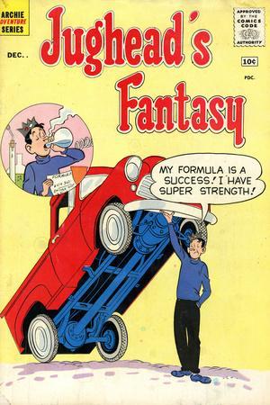 Archie Comics Retro: Jughead's Fantasy Comic Book Cover No.50 (Aged)