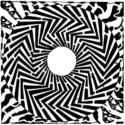 Psychedelic Swirly Maze Mazes Optical Illusio