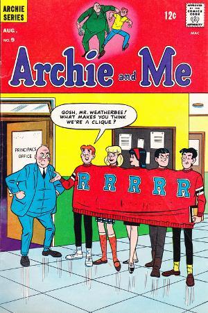 Archie Comics Retro: Archie and Me Comic Book Cover No.9 (Aged)