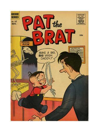 Archie Comics Retro: Pat the Brat Comic Book Cover No.17 (Aged)