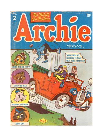 Archie Comics Retro: Archie Comic Book Cover No.2 (Aged)