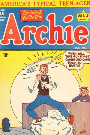 Archie Comics Retro: Archie Comic Book Cover No.16 (Aged)