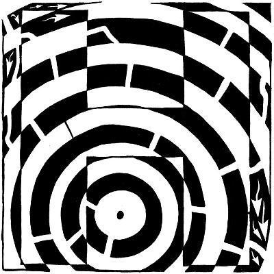 Maze of Uppercase H