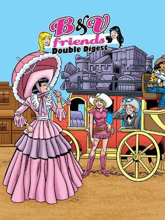 Archie Comics Cover: Betty & Veronica Friends Double Digest No.213