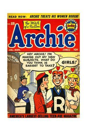 Archie Comics Retro: Archie Comic Book Cover No.69 (Aged)