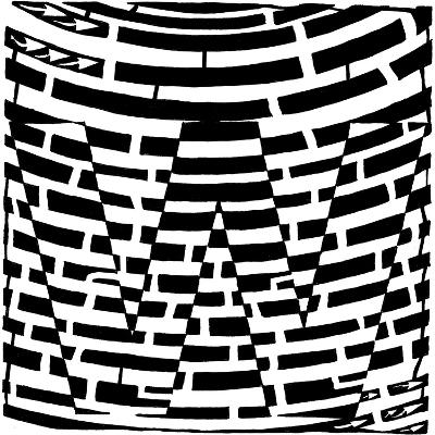 Maze of Uppercase W
