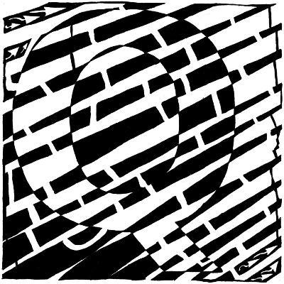Maze of Uppercase Q